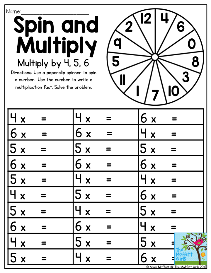 Mastering multiplication facts can be a challenging task for ...