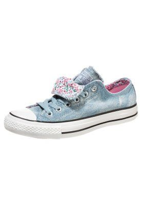 622c5cc68a818b CHUCK TAYLOR ALL STAR HIGH OX DOUBLE TONGUE CANVAS GRAPHIC - Zapatillas -  light blue denim spring flower