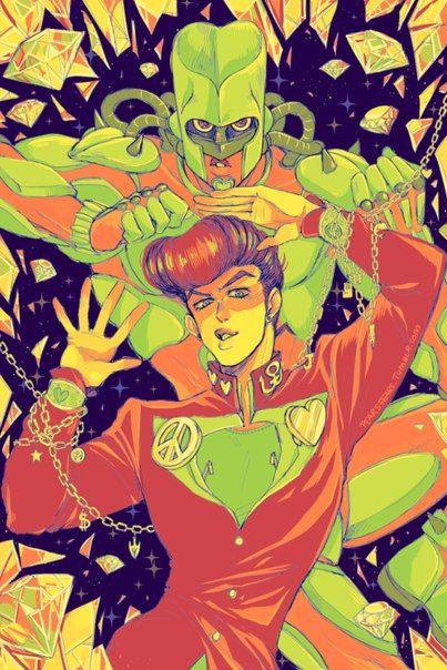 Crazy Diamond Josuke Higashikata Jojo Bizzare Adventure Jojo Bizarre Jojo S Bizarre Adventure