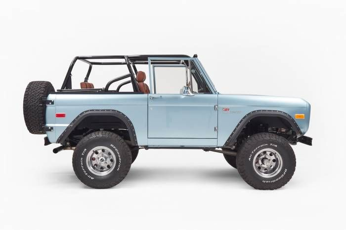 Early Bronco Restoration Classic Ford Broncos Ford Bronco Old Bronco