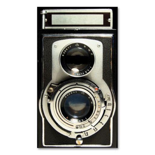 Vintage antique camera collector store business card templates vintage antique camera collector store business card templates colourmoves Images