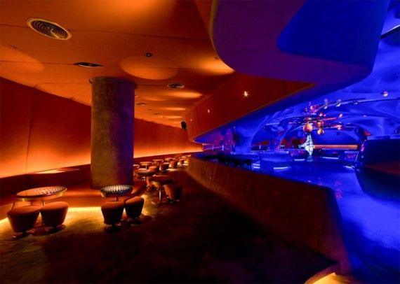 The Night Scene In Phuket Thailand Changed Permanently Last Autumn When Sound Futuristic InteriorClub DesignPhuket