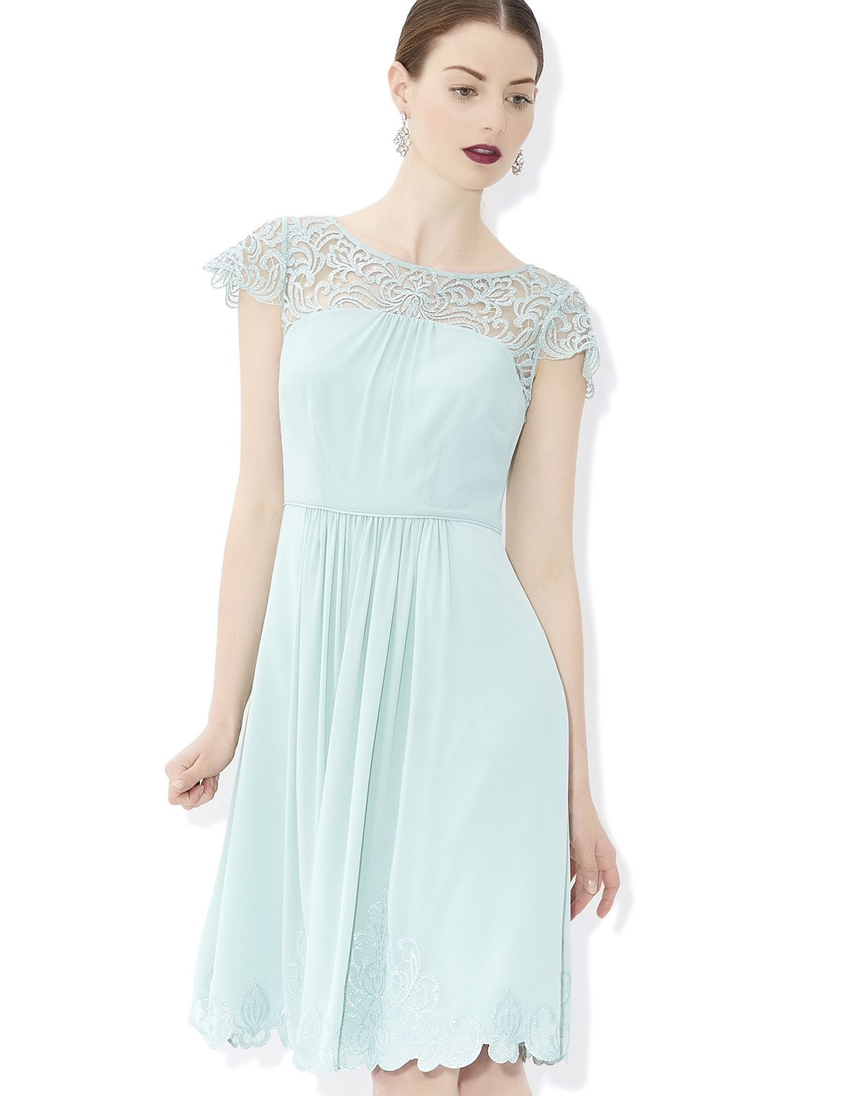 Vicky embroidered dress green monsoon sale 60 valentines fresh and pretty check out our pick of the best mint bridesmaid dresses available online and in stores now ombrellifo Choice Image