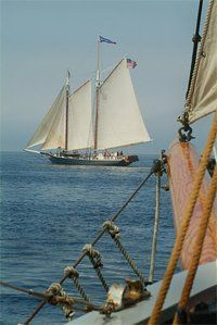 Maine Coast Windjammer Tour--What?? Did this in the Bahama's over 30 years ago, would be MUCH more fun in Maine.