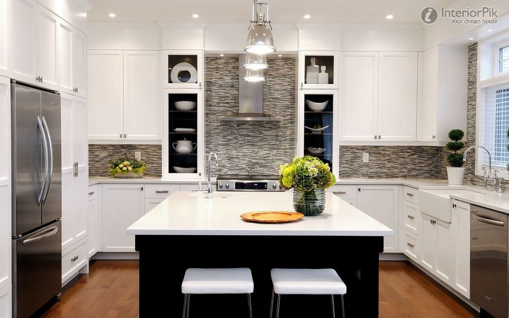 Delicieux Small Aprtment Kitchen | Style Small Apartment Kitchen Renovation  Renderings Minimalist Kitchen .