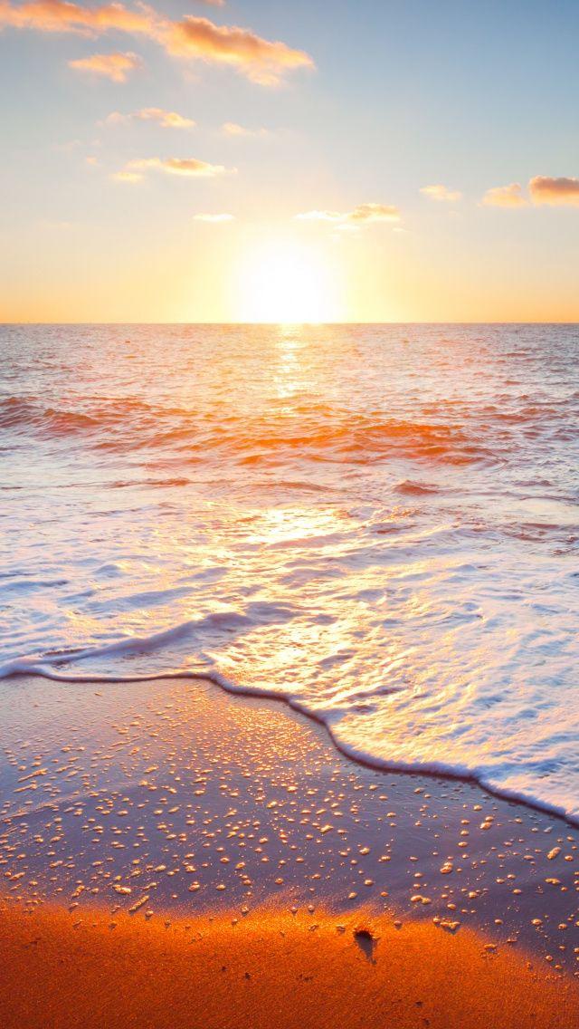 Golden Beach Iphone 5s Wallpaper Download Iphone Wallpapers Ipad Wallpapers One Stop Download Beach Wallpaper Iphone 5s Wallpaper Sunrise Beach