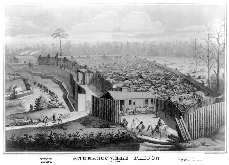 Civil War Prisons | Andersonville Prison Camp, Ga.