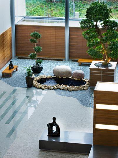 jardines zen interiores google search