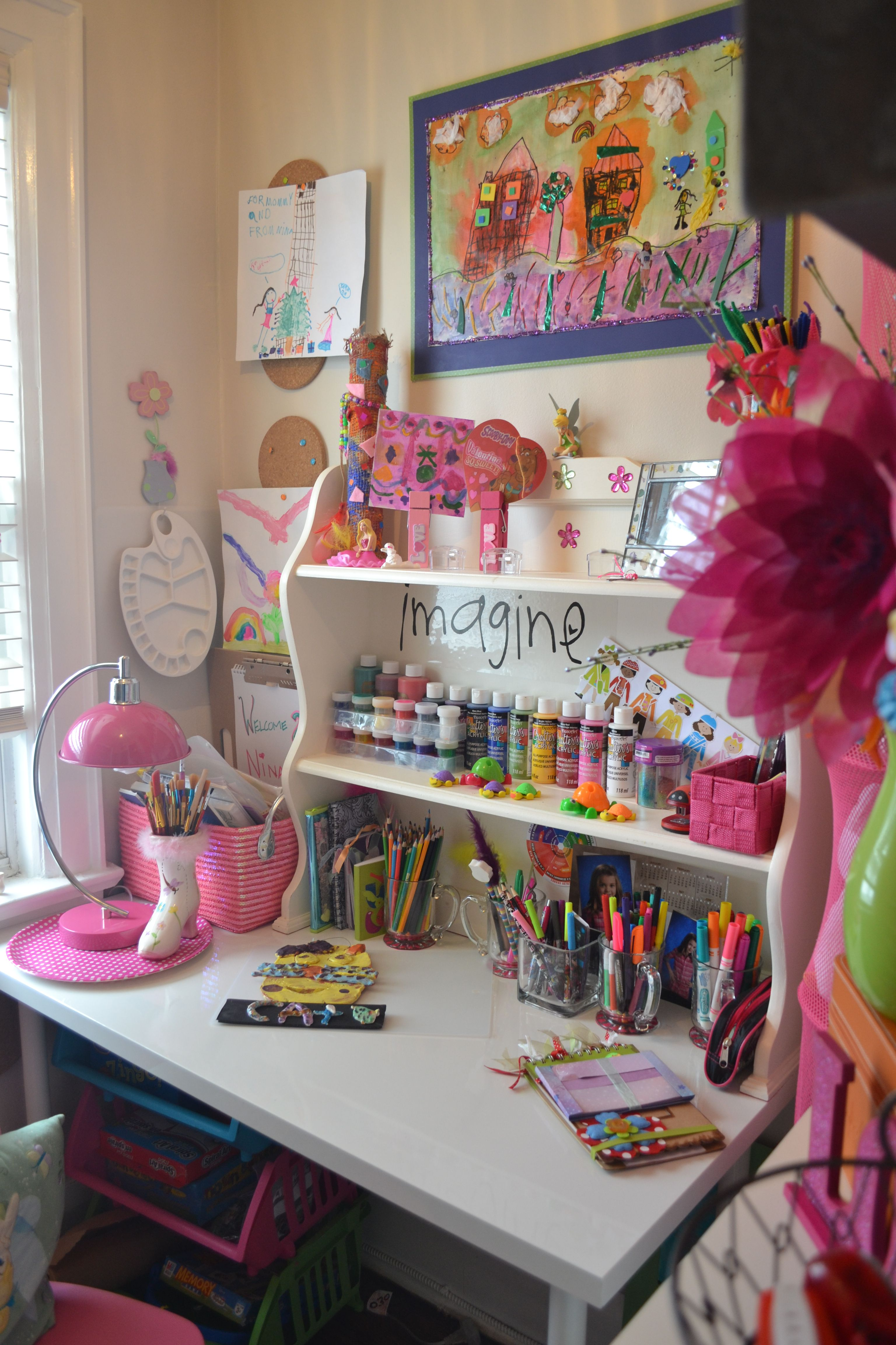 Art Studio 2 Craft Room Craft Corner Creative Space Arts and crafts room