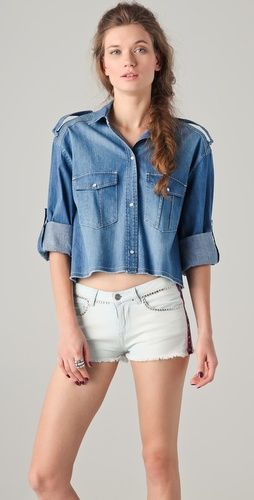 (Limited Supply) Click Image Above: Iro Armon Denim Shirt