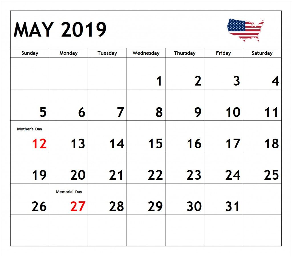 May 2020 Calendar With Holidays For US, Canada, India