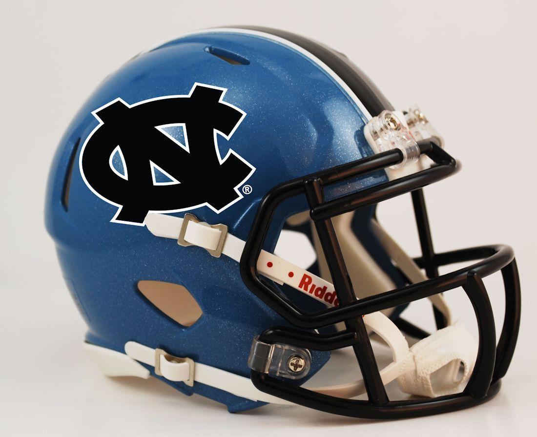 NORTH CAROLINA TAR HEELS NCAA Riddell SPEED Authentic Football Helmet