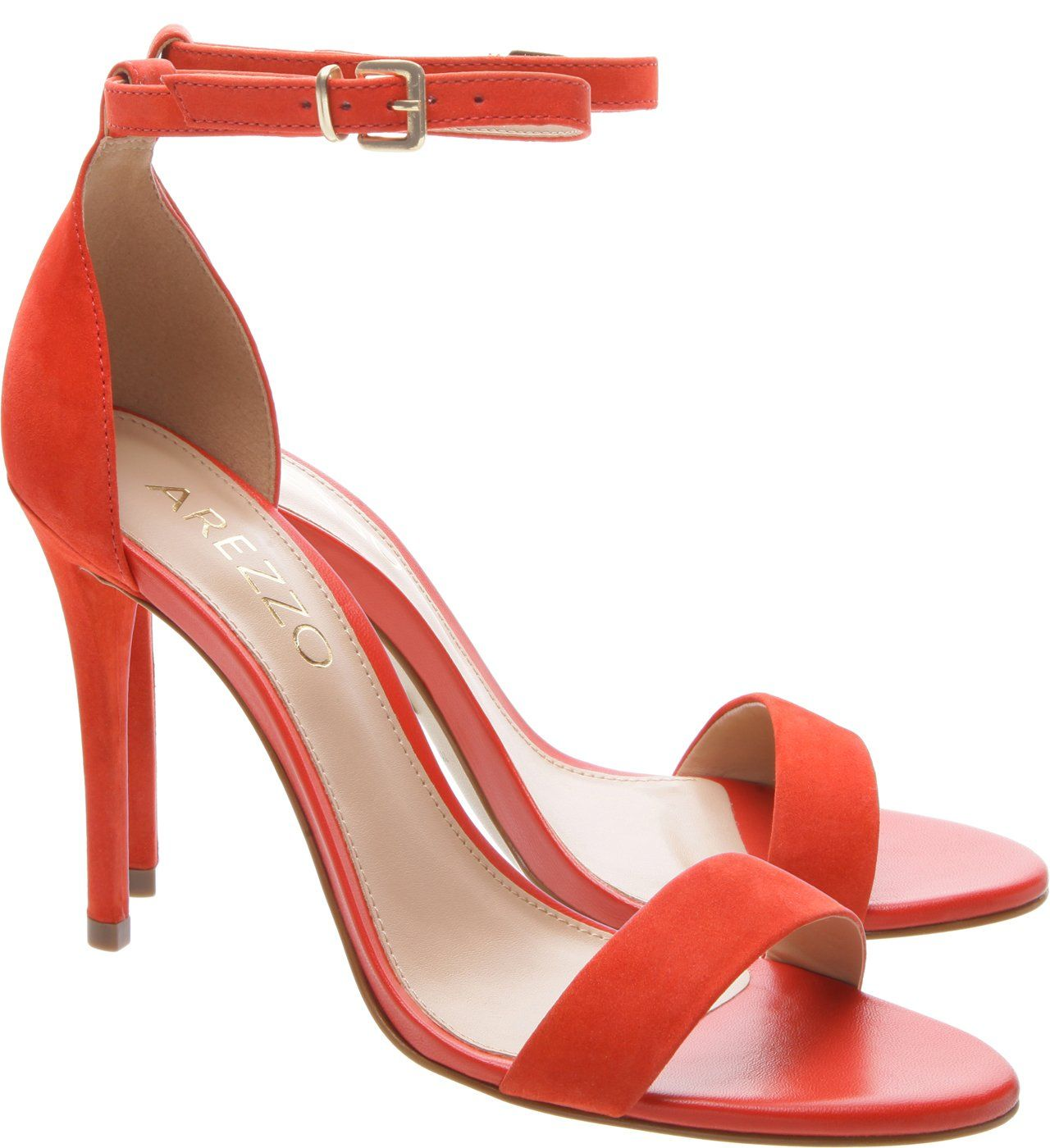 b86795978 Sandália Isabelli Nobuck Perfect Red in 2019 | shoes | Shoes, Heels ...