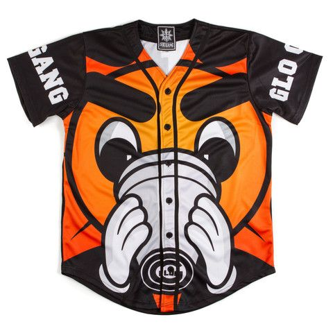 GLO GANG | Rap | Baseball jerseys, Orange shirt, Baseball