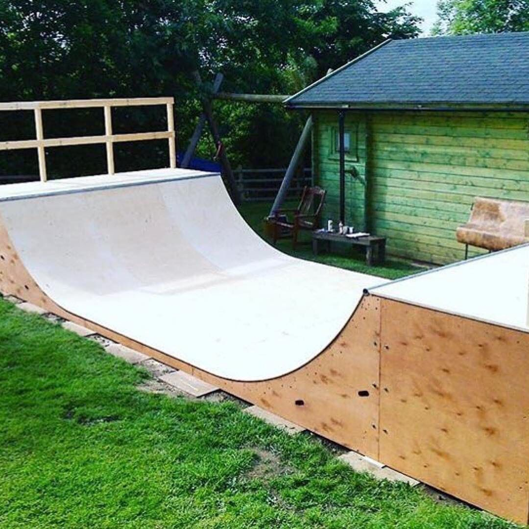 Order One Of Our Self Build Kits And You Could Have This Or One Of Our Other 23 Sizes Of Mini Ramps Setup In Your Back Yard Mini Ramp Skate Park Backyard mini ramp kit