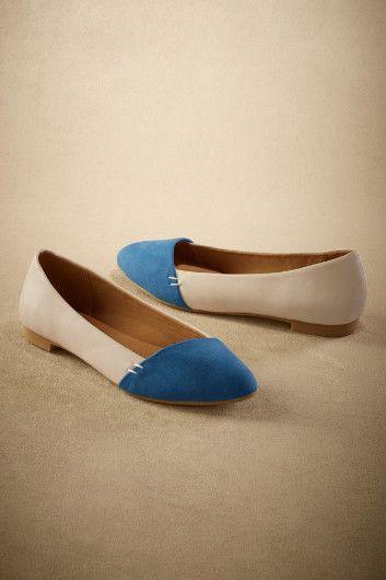 Tipped-toe Flats - Color Block Flats, Cute Casual Flats   Soft Surroundings