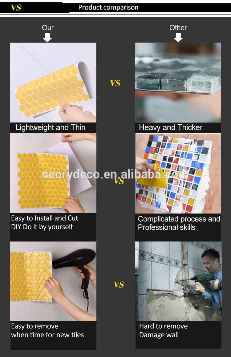 peel and stick tile has more advantage than ceramic tiles ...