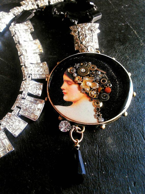 Check out this item in my Etsy shop https://www.etsy.com/listing/215814142/queen-of-the-forgotten-assemblage