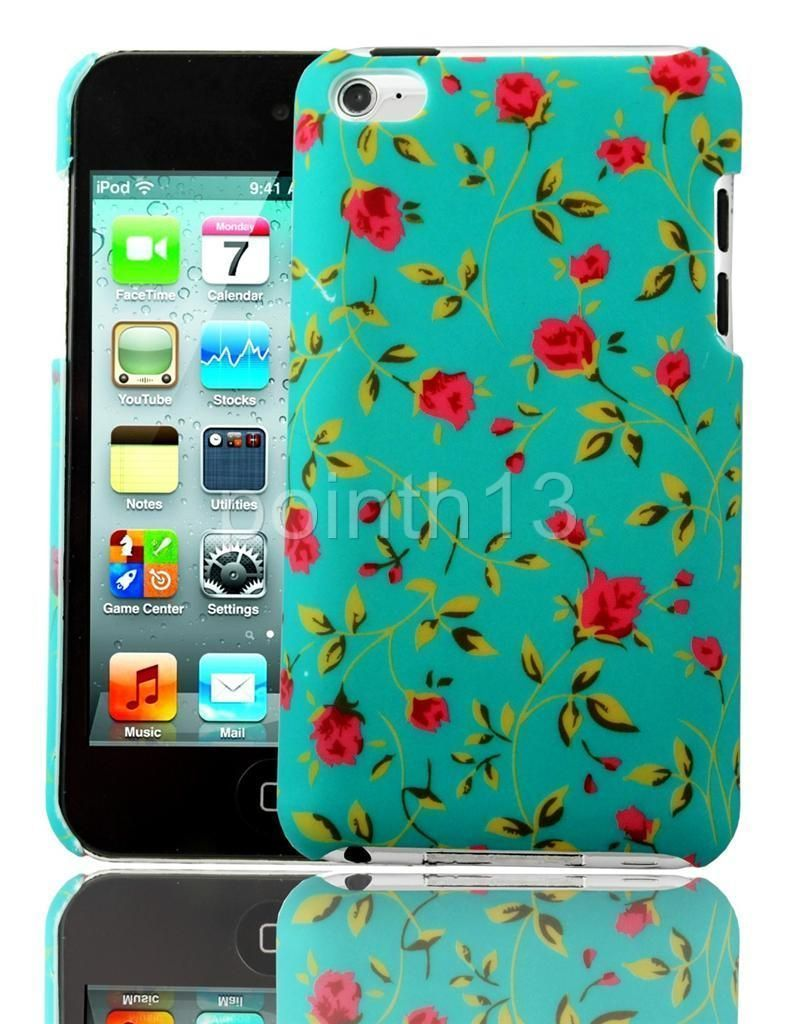 Hard TPU Rubber Silicone Skin Case Cover Disney For iPod Touch 4th Generation