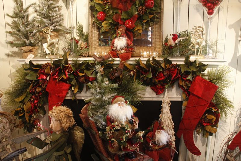 Welcome To The Snowman Factory Christmas Vignettes Christmas Mantel Decorations Christmas Mantle