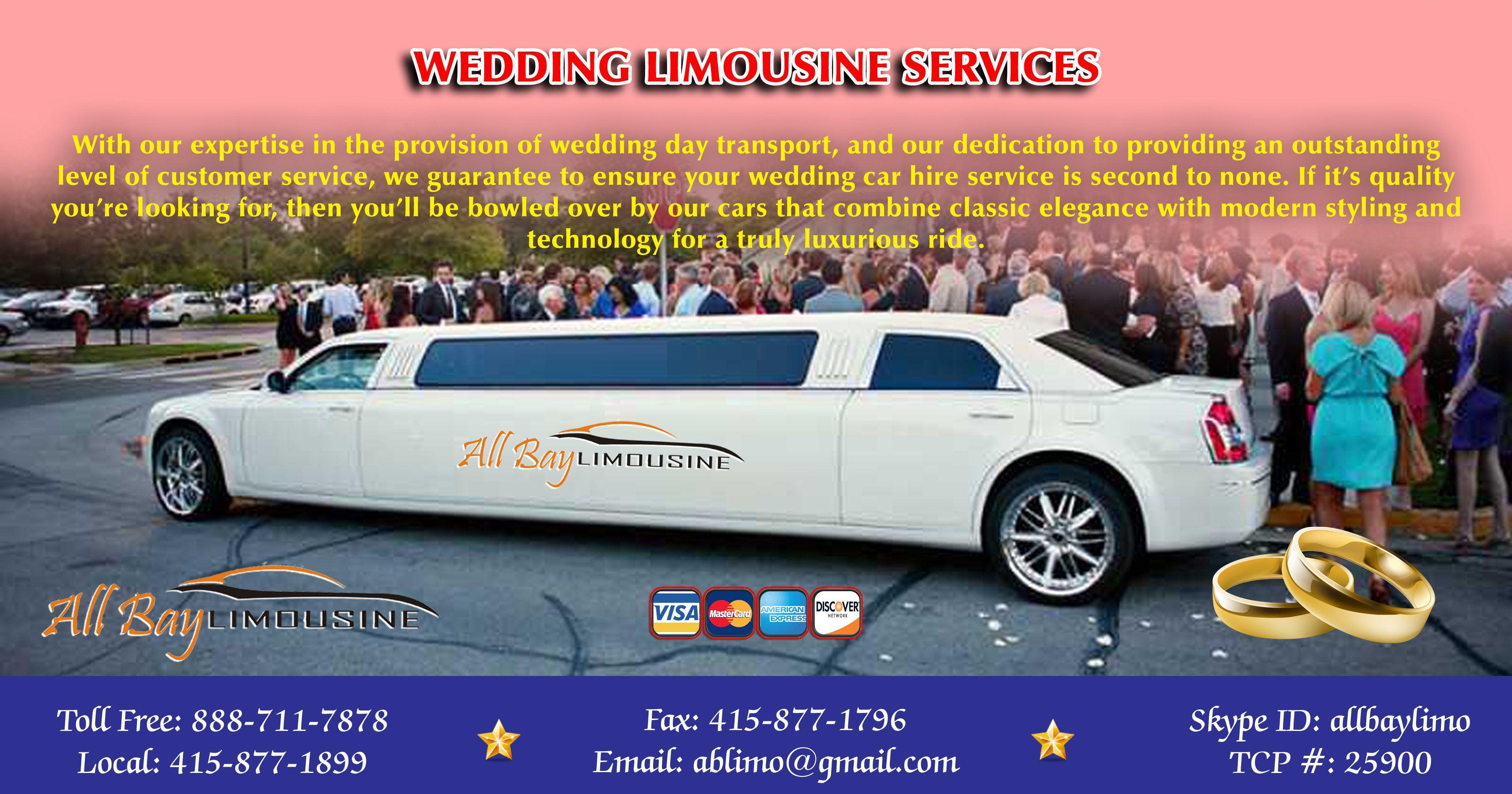 Wedding Limousine Services In San Francisco Limousine Wedding Car Hire Limo