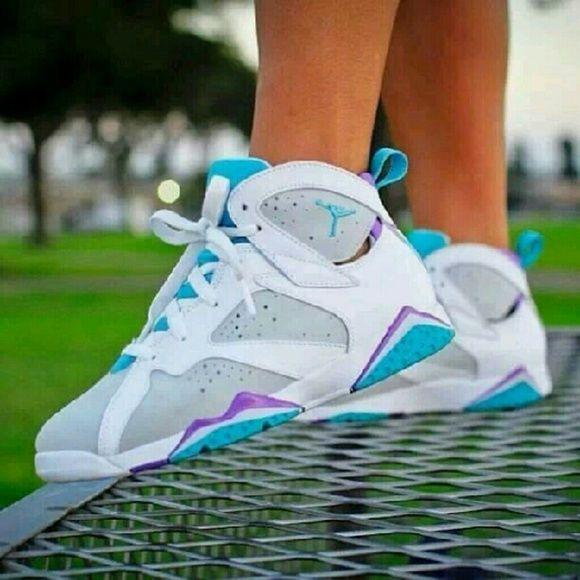 New Style Air Jordan 4 Girls TealWhite Black Retro Womens