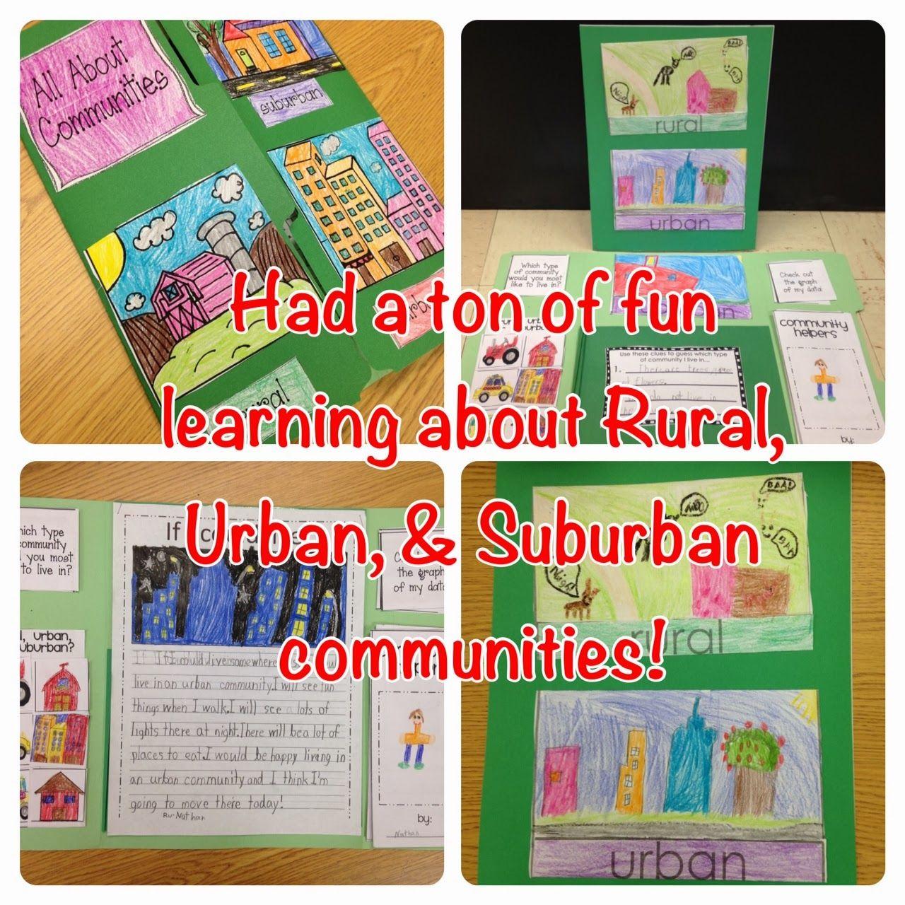 Rural, Urban, And Suburban Communities = FUN!