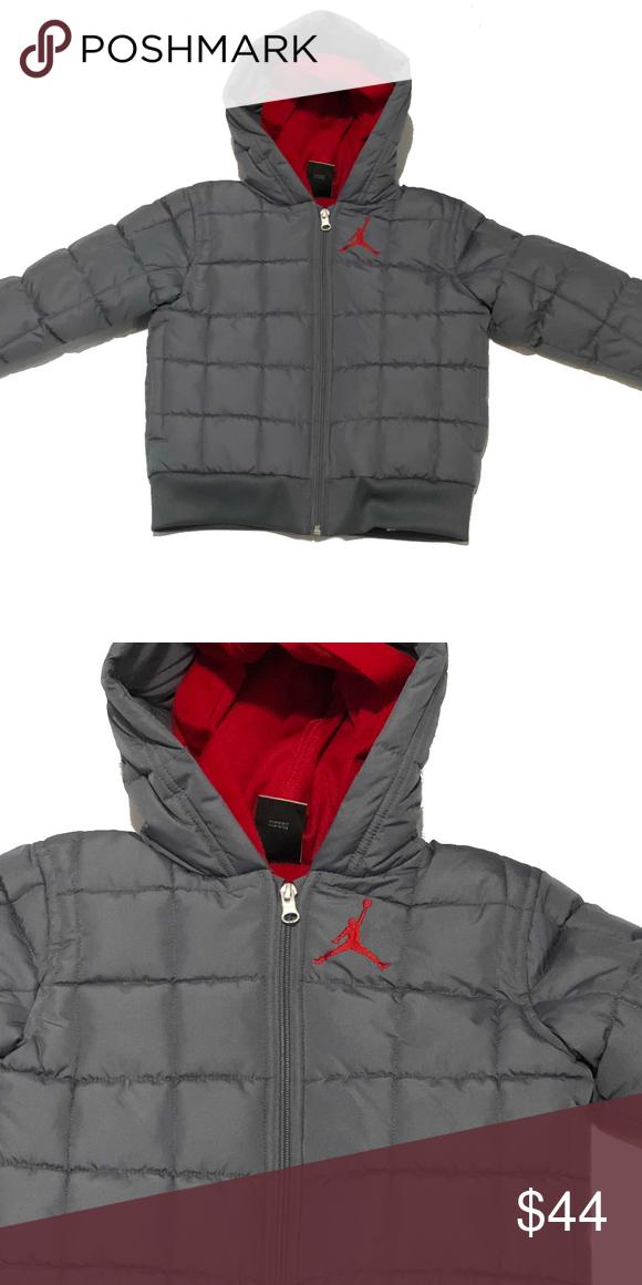 d338d4a94df823 Jordan Jumpman Boy s Puffer Jacket (Cool Grey