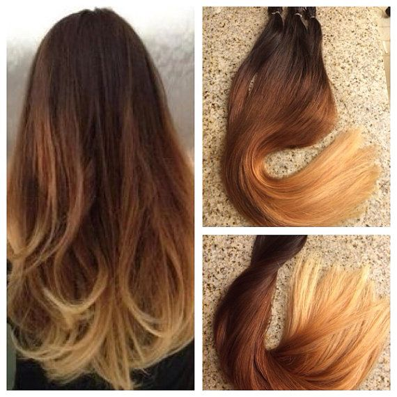 Ombre Remy Fusion I Tip Stick Tip 100 Human Hair Extensions 20in