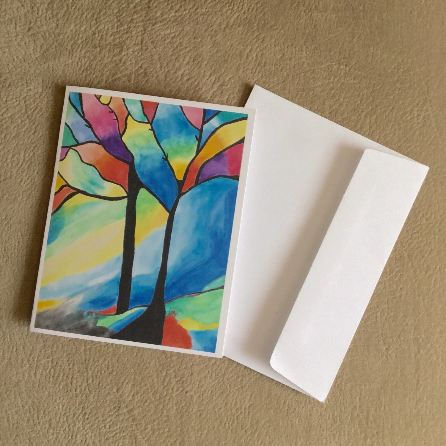 Watercolor Note Cards Cards For Her Stationery For Her Gift For