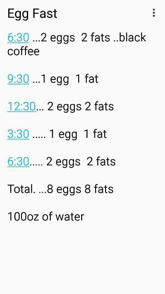 banting plan de dieta