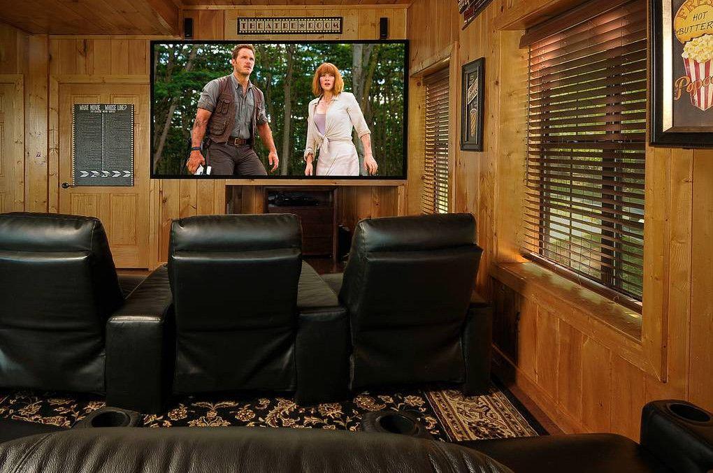 Birds Eye View 2 Bedroom Cabin Rental Cabin Rentals Home Theater Rooms Cabin