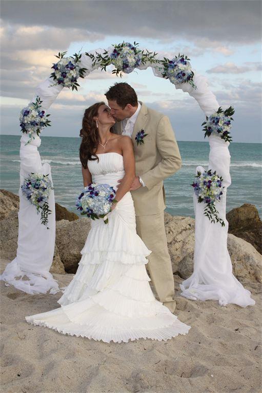 Affordable Beach Weddings Home Miami Fl