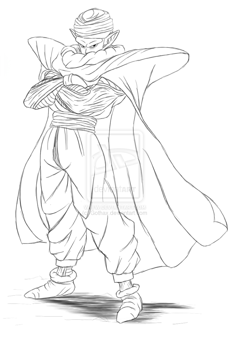 How to Draw Piccolo | Personnages