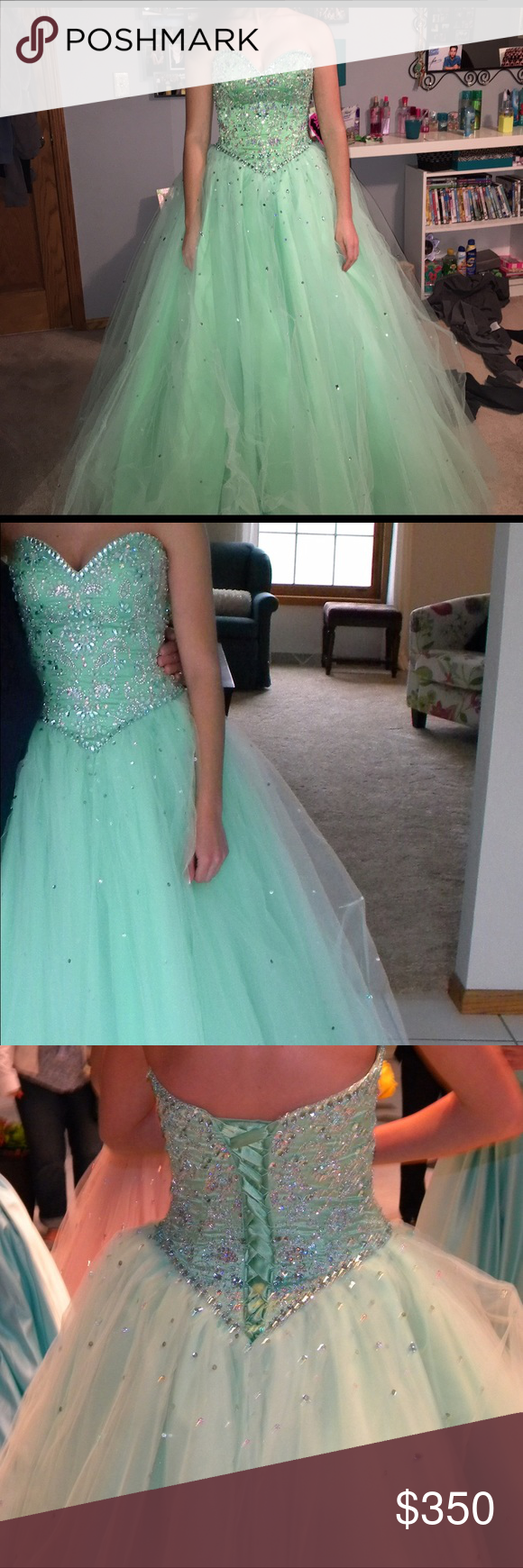 Morilee prom dress size mint green mori lee dresses mori lee