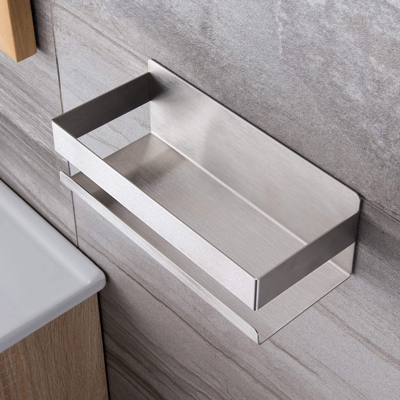 Ruicer Duschkorb Selbstklebender Duschregal Ohne Bohren Duschablage Für Badezimmer Duschregal Duschkorb Dusche