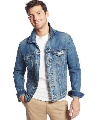 LEVI'S Levi'S Men'S Danica Trucker Jacket. #levis #cloth # coats