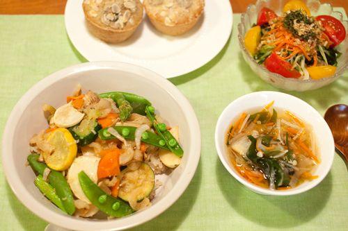 シンプル料理レッスン ⭐︎簡単ビビンバ⭐︎ We love 玄米 マクロビオティック雑穀料理 フォトライフ