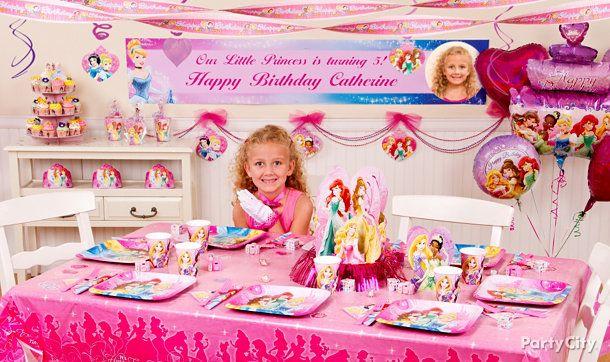 Disney Princess Birthday Party Ideas Party City Olivias