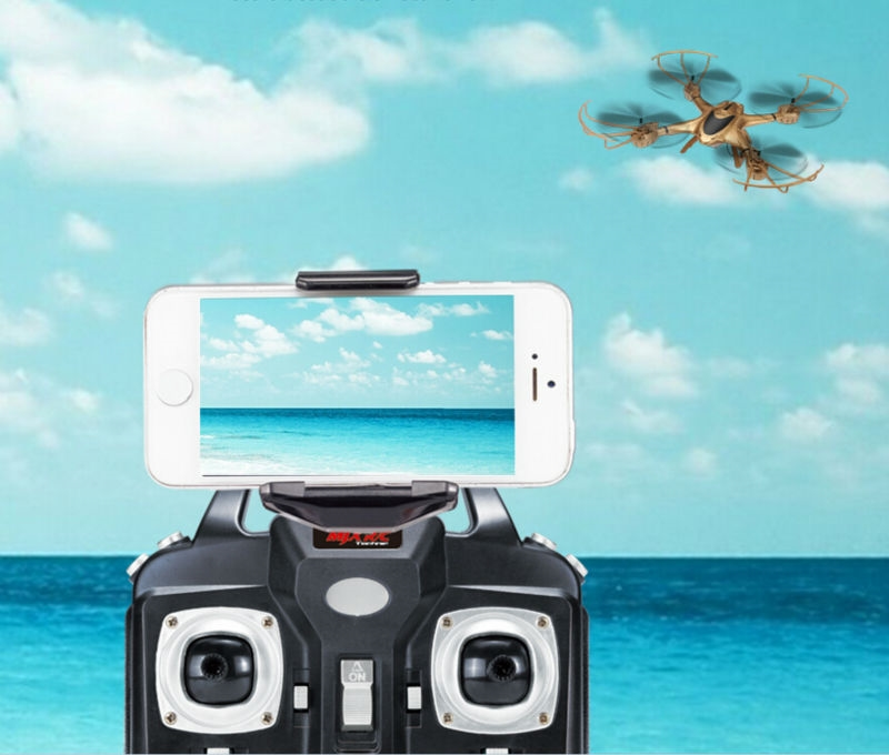 78.30$  Buy here - http://ali79u.worldwells.pw/go.php?t=32652628768 - Newest RC Drone MJX X401H WIFI FPV Real-time Air Pressure High Headless APP phone control RC Quadcopter helicopter VS X5HW X601H 78.30$