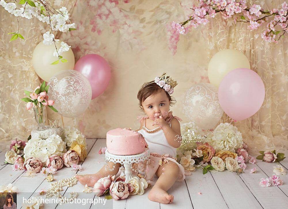 Vintage Cake Smash Session With Images 1st Birthday Cake Smash