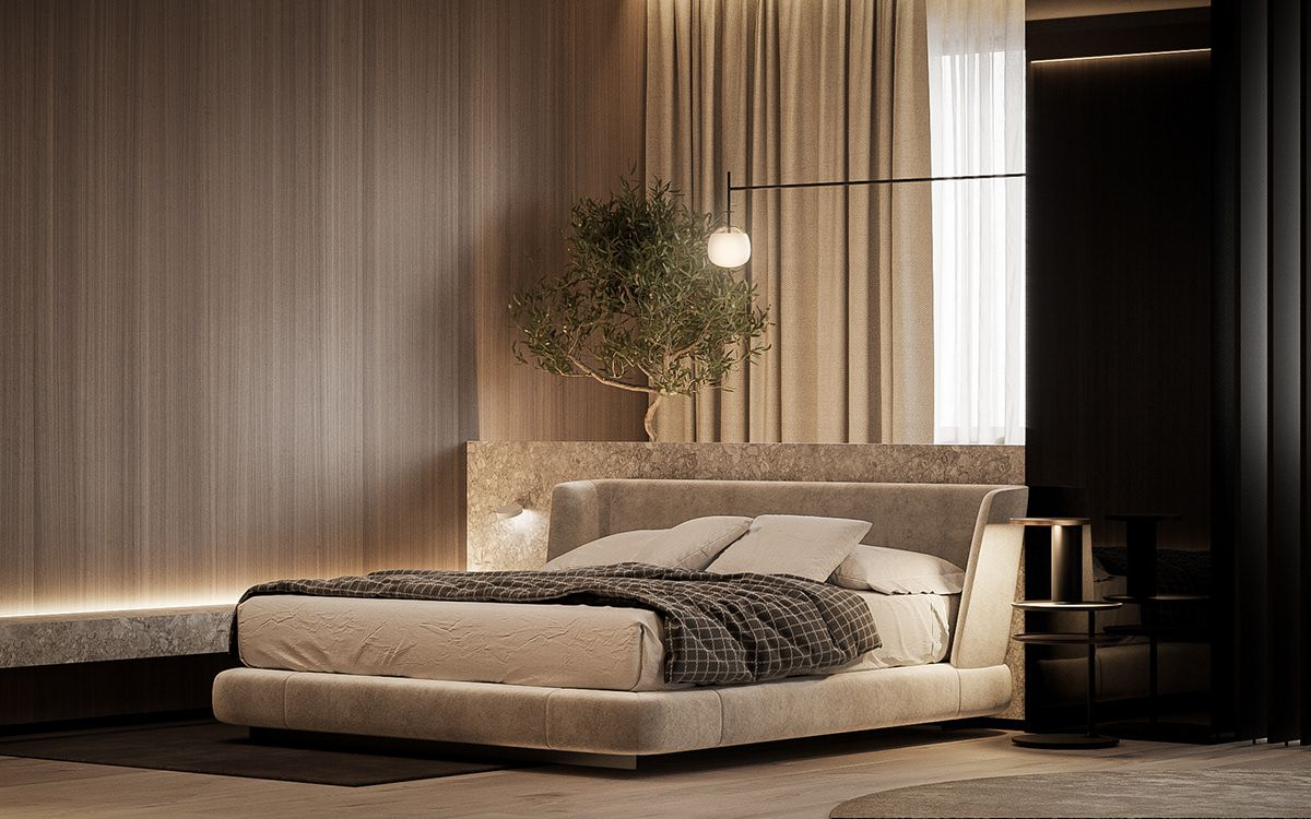 The Urban Apartment On Behance In 2020 Urban Apartment Bedroom