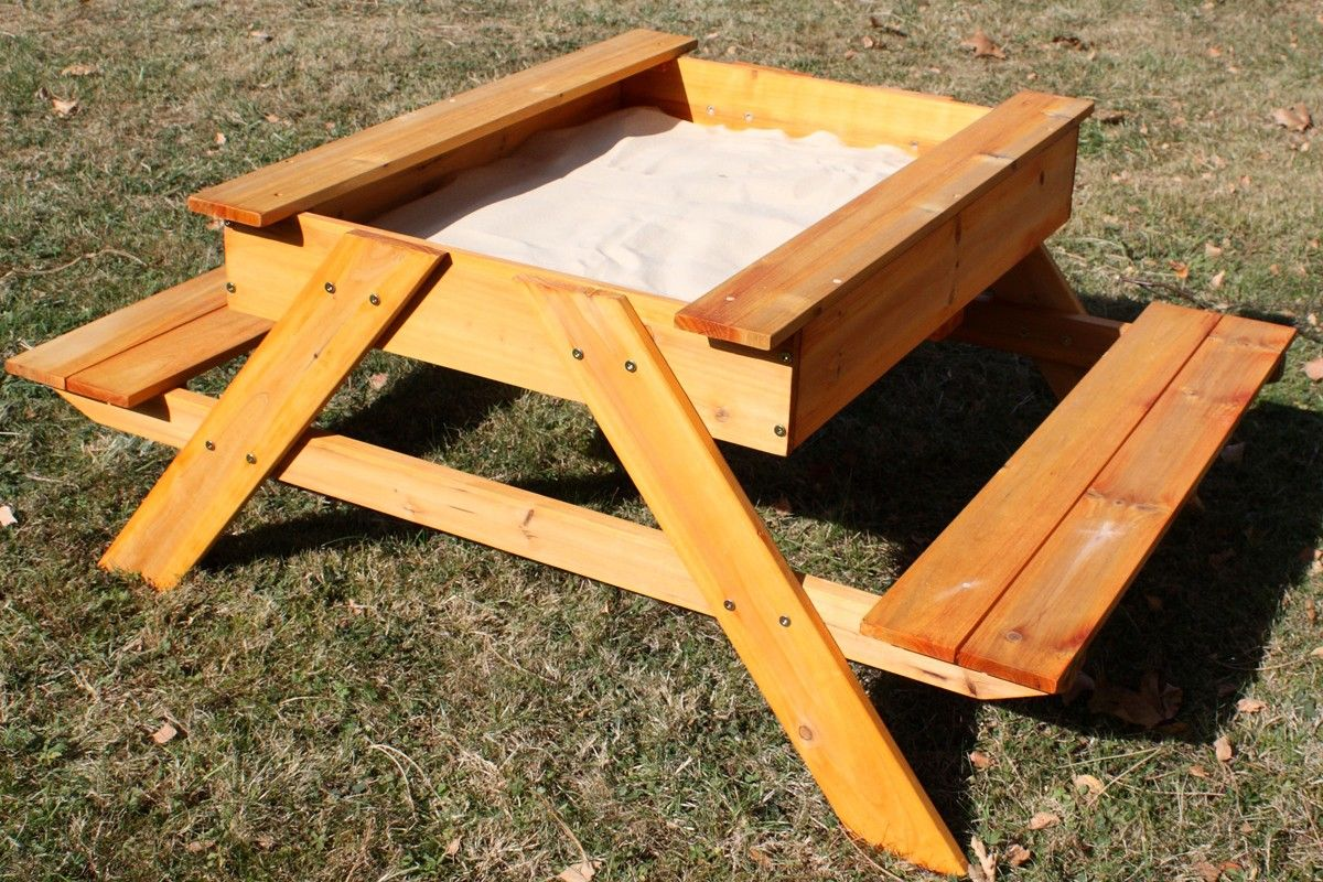 Sand And Picnic Table....from Climbing Frames Australia Kinda Far To Order