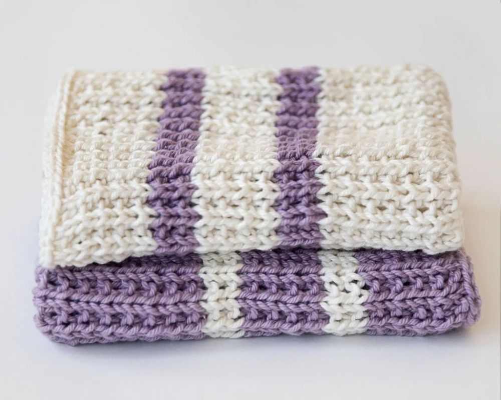 Photo of Knit Dishcloth Pattern – Leelee Knits