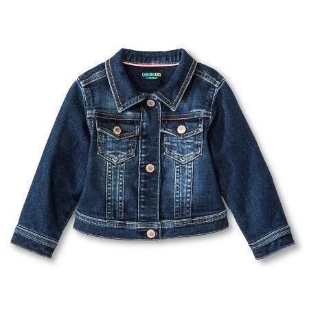 Baby Girls' Jean Jacket Medium Wash - Genuine Kids from Oshkosh™