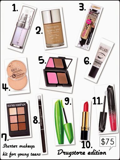 Taylor Pie Beauty : Starter Makeup Kit For Young Teens
