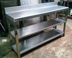 Resultado de imagen para mesa de trabajo de acero inoxidable para ...