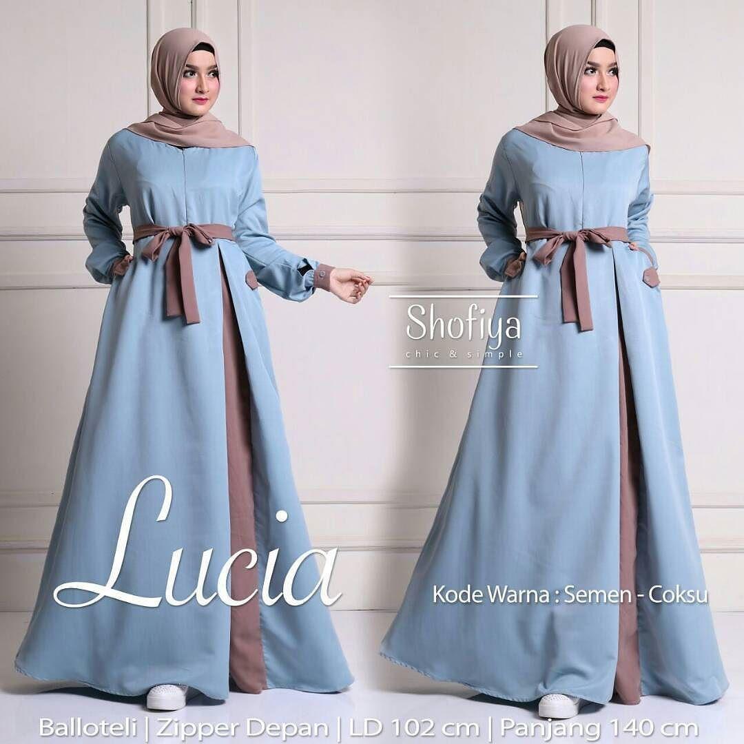 Lucia Dress Detail Ada Di Picture Yakak Shofiya Gamis Solo Membuka Kesempatan Untuk Gabung Menjadi Reseller Pakaian Wanita Model Pakaian Model Pakaian Hijab