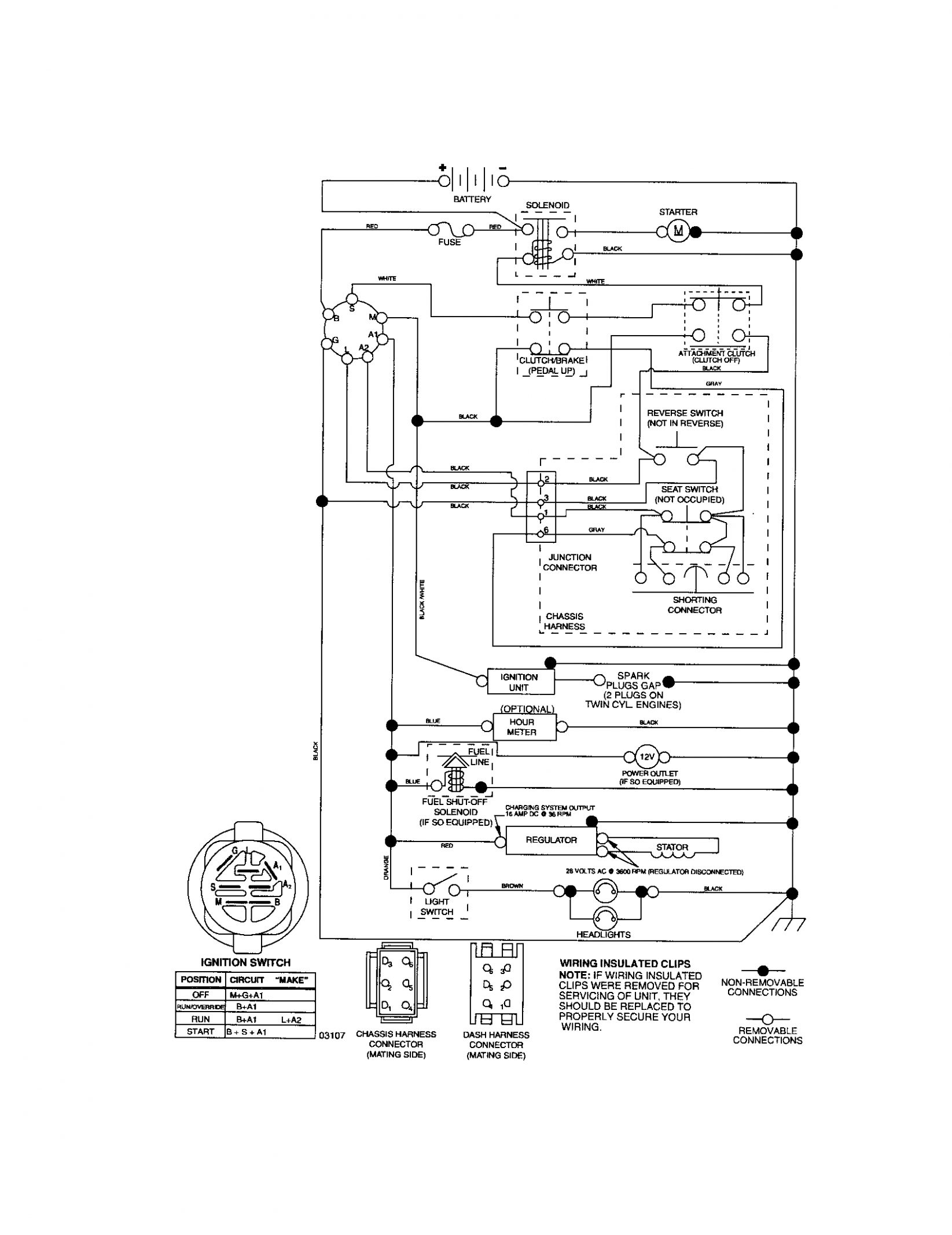 Small Engine Starter Relay Diagram Di