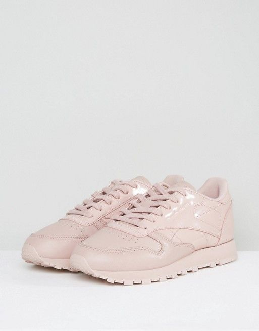 b04a09d772a4cd Reebok Classic Pellegrine Leather Trainers In Light Pink